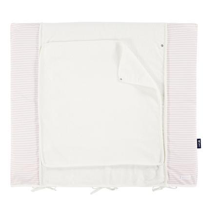 bellybutton przez Alvi ® Mata do wymiany z pokrywą 85 x 70 cm, owczy różowy