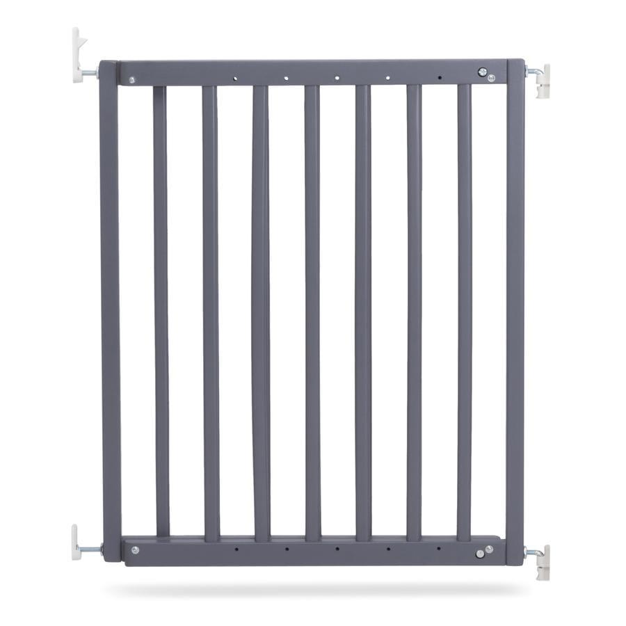 Geuther Barrera de protección para puertas y escaleras  63 - 103,5 cm gris
