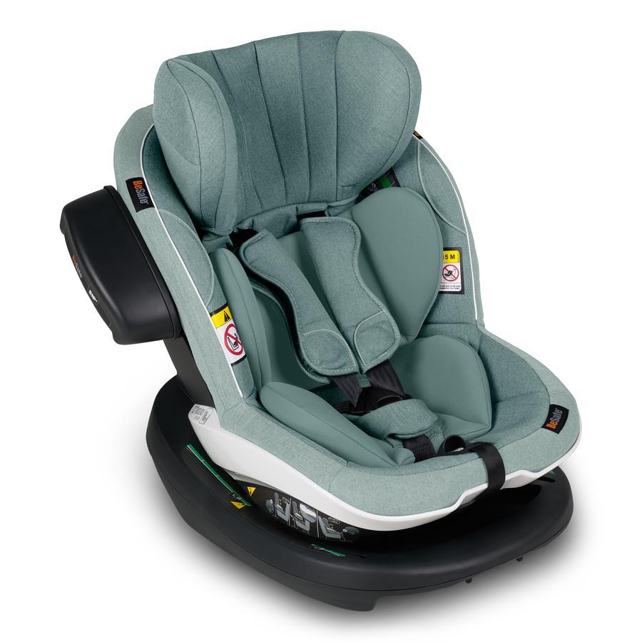 BeSafe Kindersitz iZi Modular i-Size RF X1 Sea Green Mélange