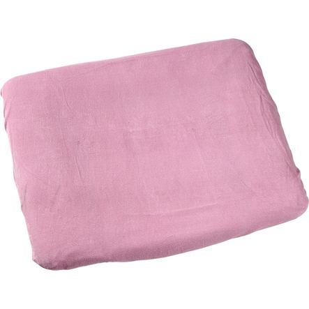 odenwälder Wickelauflagenbezug Frottee soft pink 75 x 85 cm