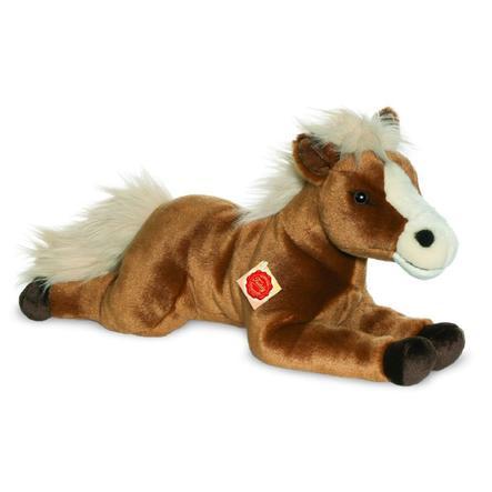 Teddy HERMANN® hevonen makaa ruskeana, 51 cm