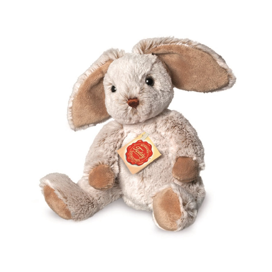 Teddy HERMANN ® dingle hare grå, 25 cm