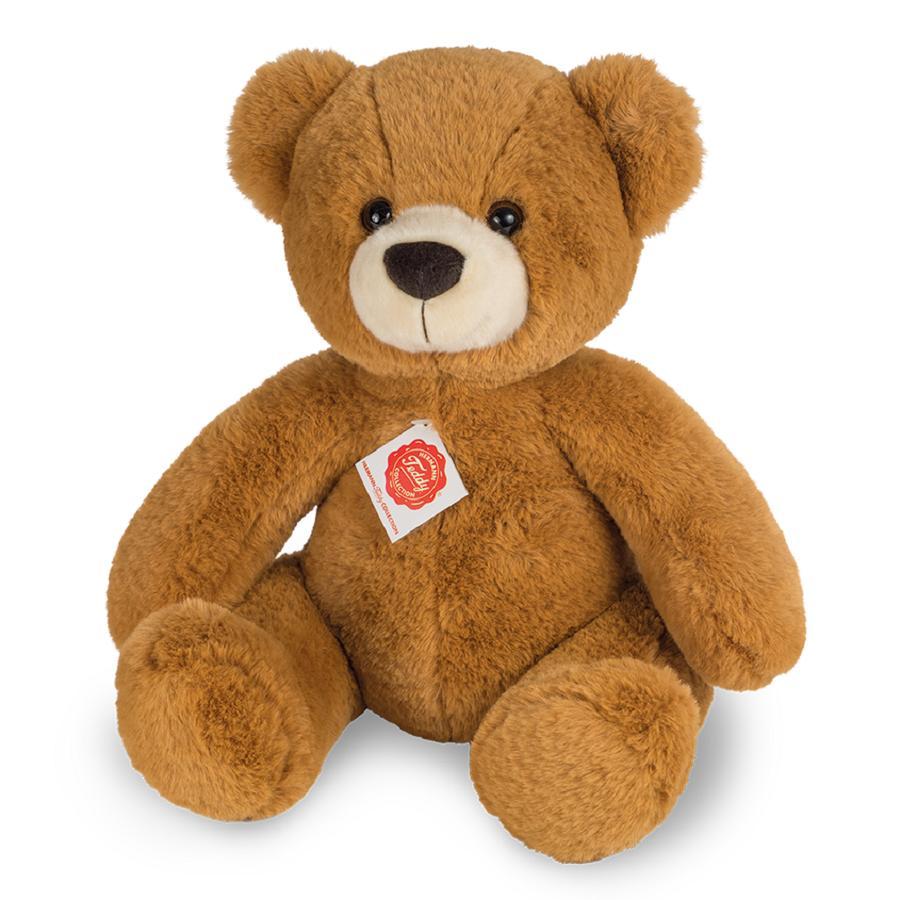 Teddy HERMANN® Peluche ourson brun doré 40 cm