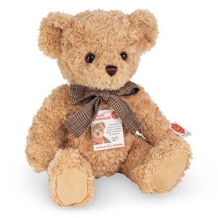 Teddy HERMANN ® Teddy beige con gruñido, 35 cm