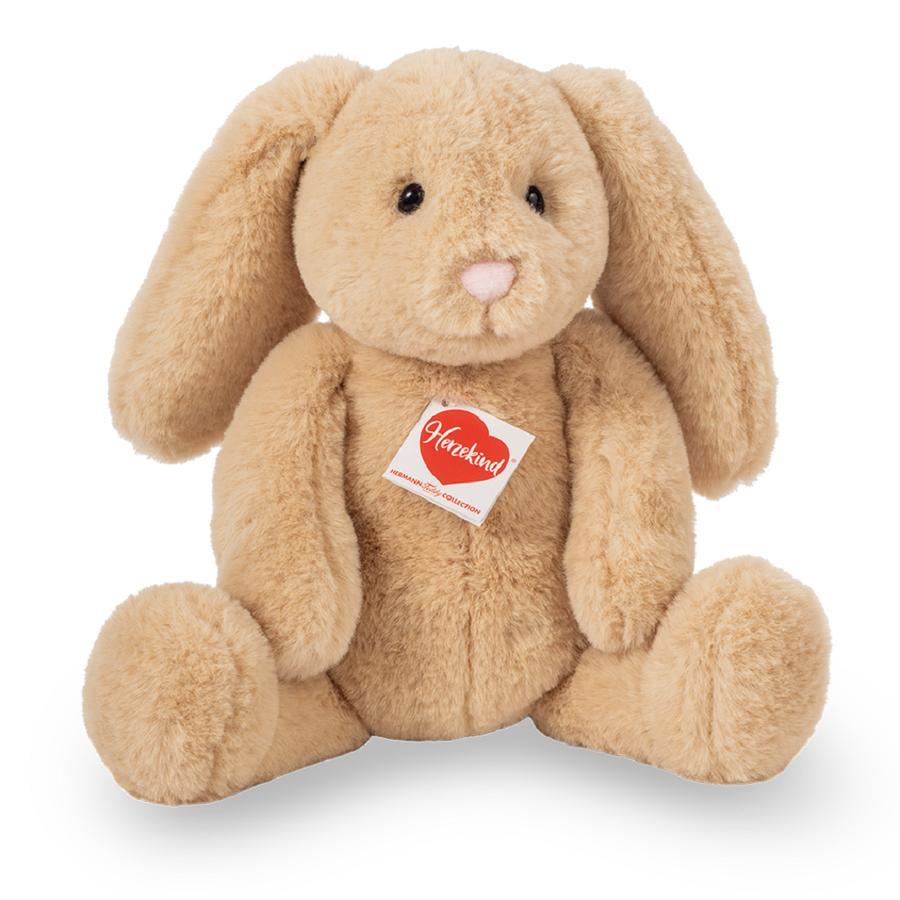 Teddy HERMANN ® Corazón niño - Conejo Franny 31 cm