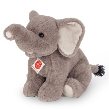Teddy HERMANN® Elefant sitzend, 35 cm