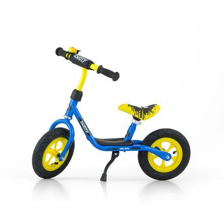 Milly Mally Draisienne enfant Dusty 10 pouces bleu/jaune