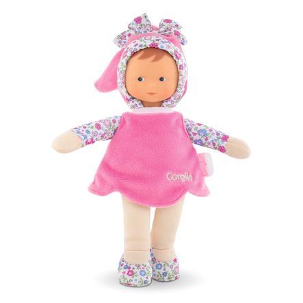 Corolle ® Muñeca de tela de Mon Doudou de la Srta. Pink Corelle Flower