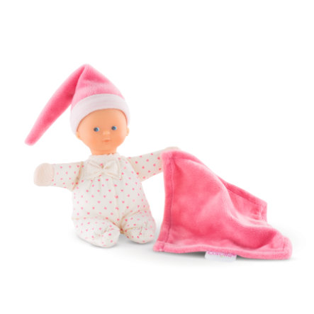 Corolle® Mon Doudou Mini Rece vaaleanpunaiset sydämet