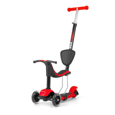 Milly Mally Scoot he 3in1- Lille stjerne r ›d