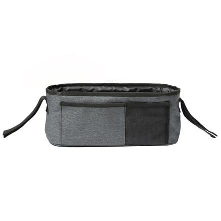 Altabebe Bolsa para silla de paseo Multi Pockets negro gris