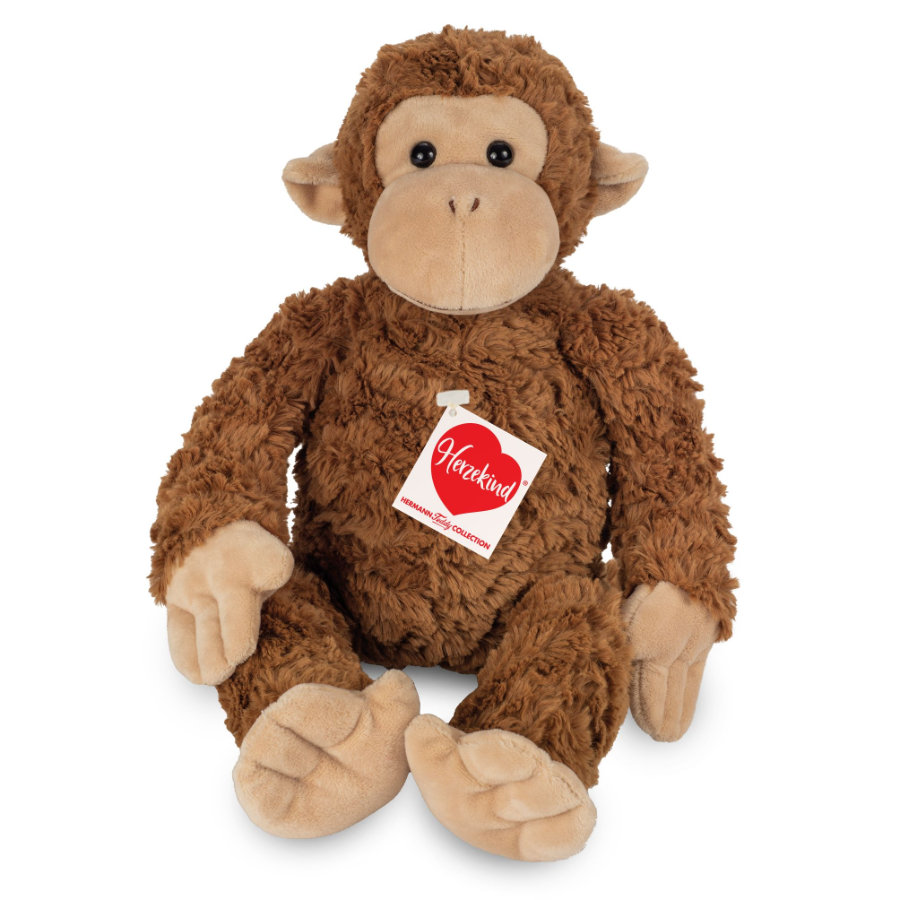 Teddy HERMANN® Monkey Yoyo, 39 cm