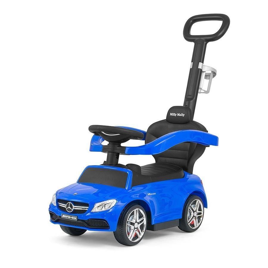 """Milly Mally Porteur enfant électrique Mercedes-AMG C63 Coupé bleu 14"""""""