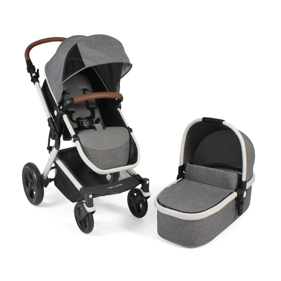 CHIC 4 BABY Wózek dziecięcy PASSO Melange grey