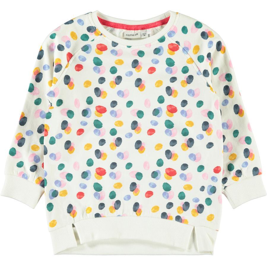 name it Girls Sweatshirt Nmfludot snow white