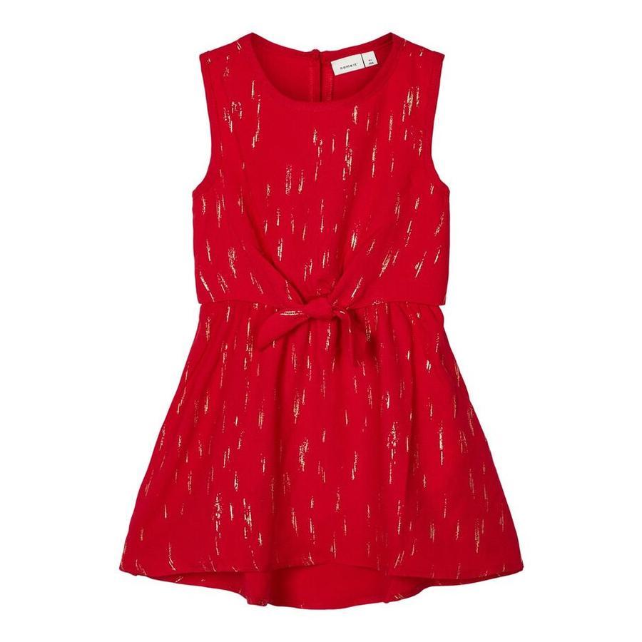 pojmenujte to Dívčí šaty Ritalina šašek červená