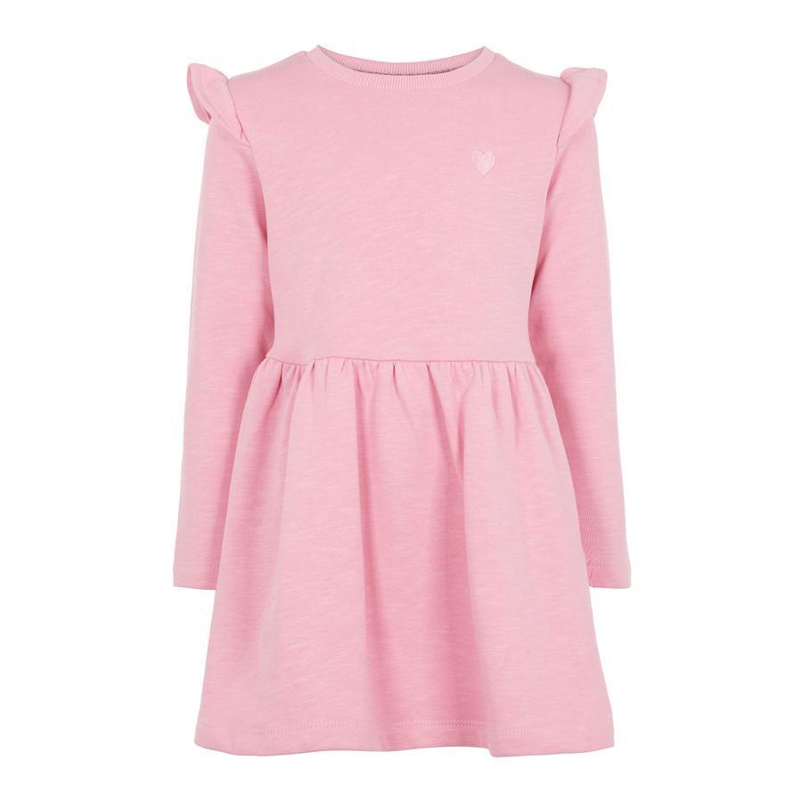name it Girls Kleid Nelis Prism Pink
