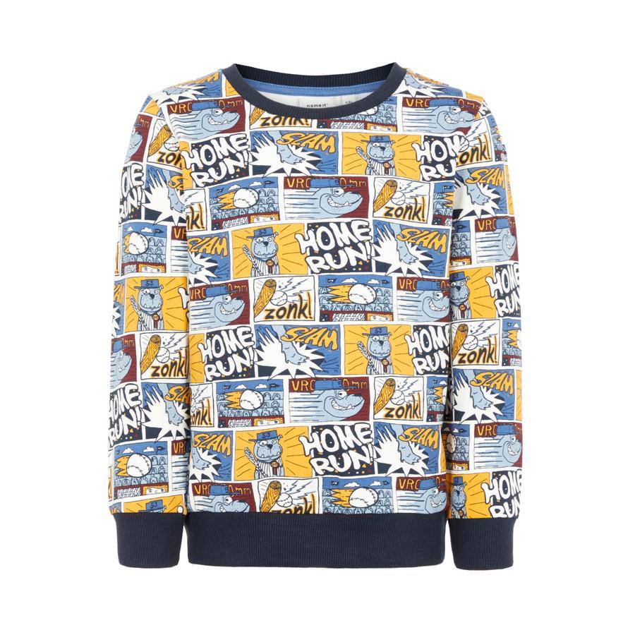 name it Boys Sweatshirt Otoon snow white