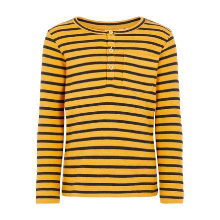 name it Camisa de manga larga de los chicos Vale  golden orange