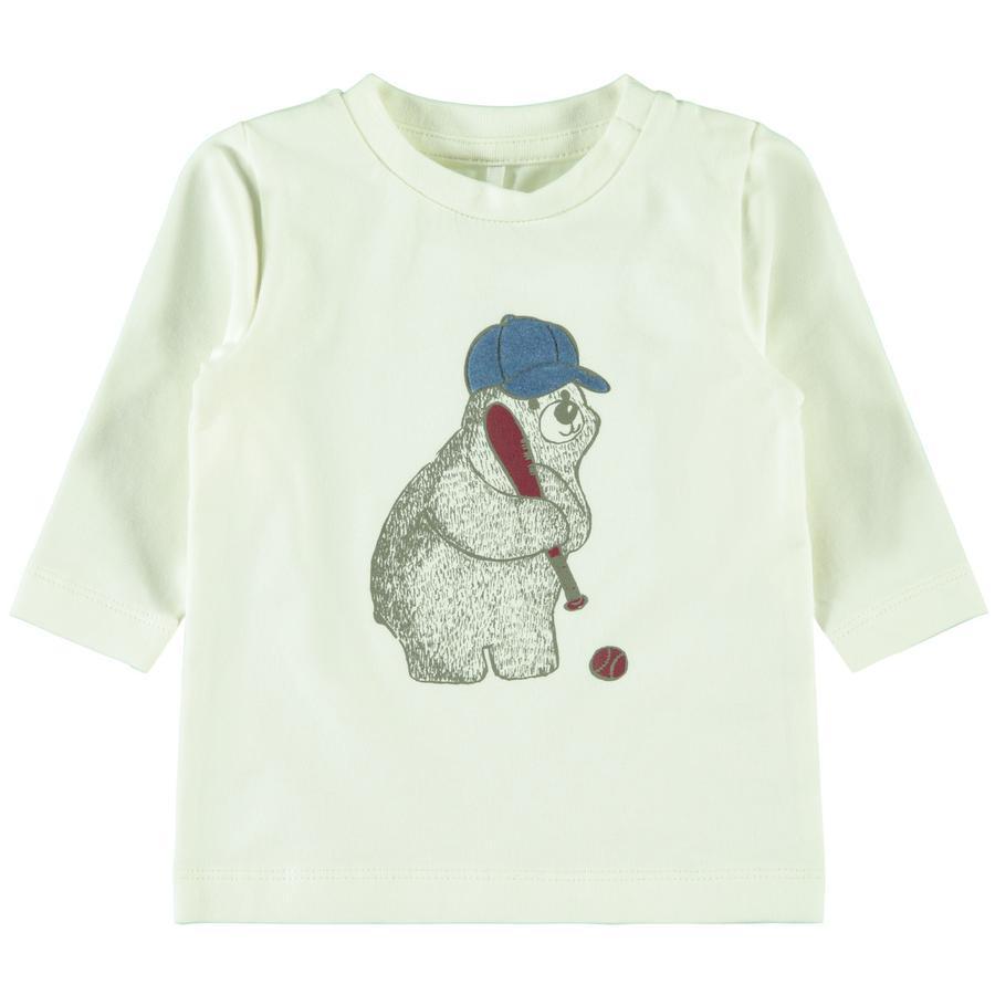 name it Jongens shirt met lange mouwen Omil sneeuw white