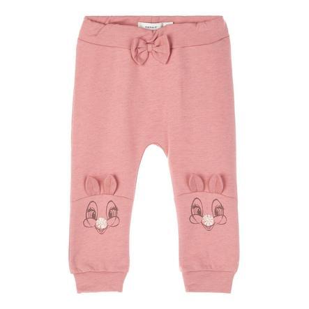 name it Girls Pantalones de chándal Nbfthumper dusty Rose