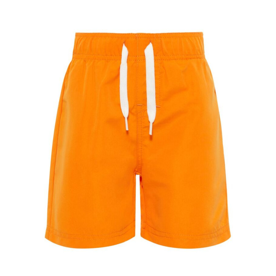 name it Badeshorts Nmmzaku sun orange