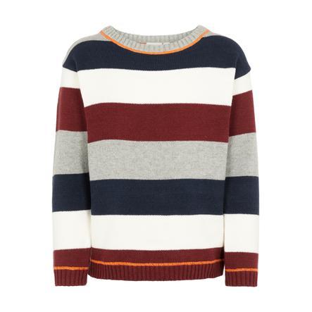 name it Drenge strikket sweater Dejlig grå melange