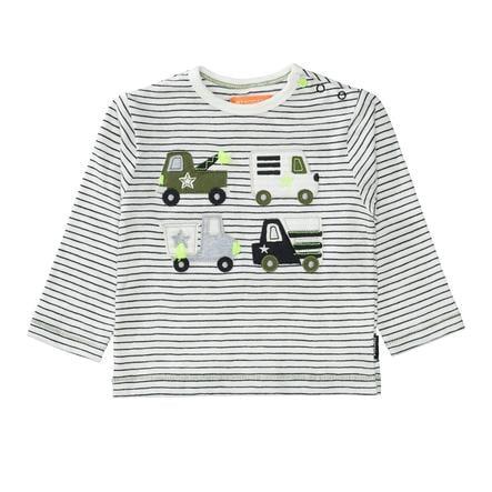 STACCATO Skjorte anthra striped
