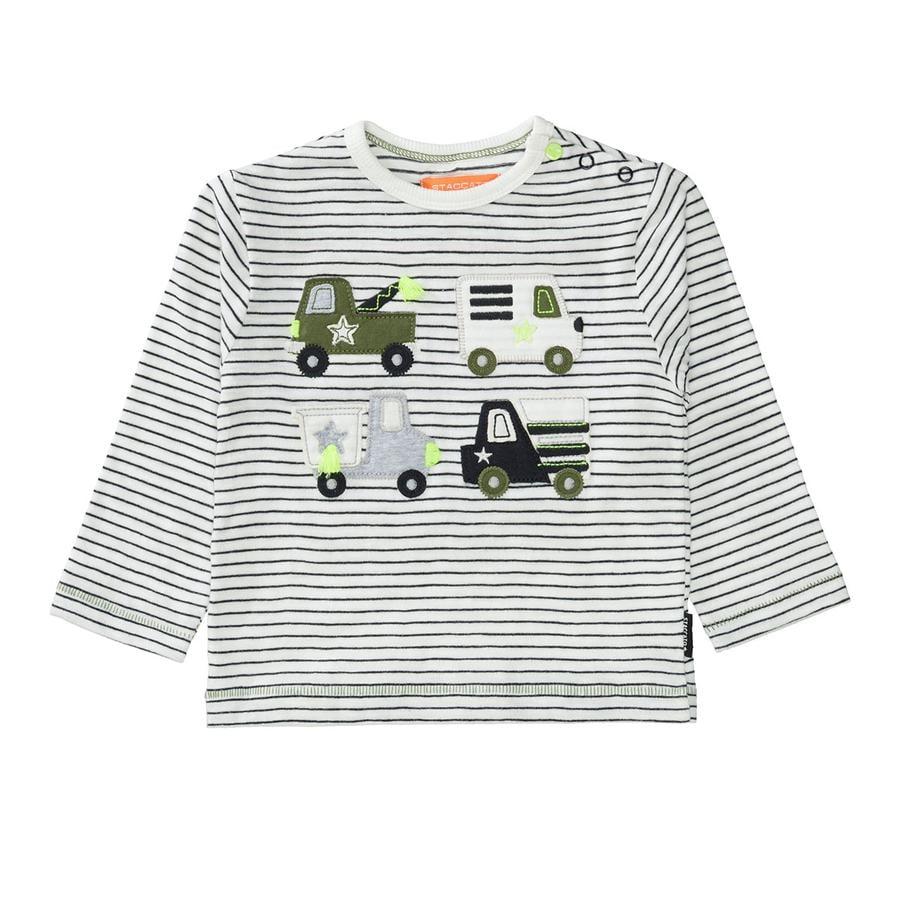 STACCATO  Camisa antra rayada