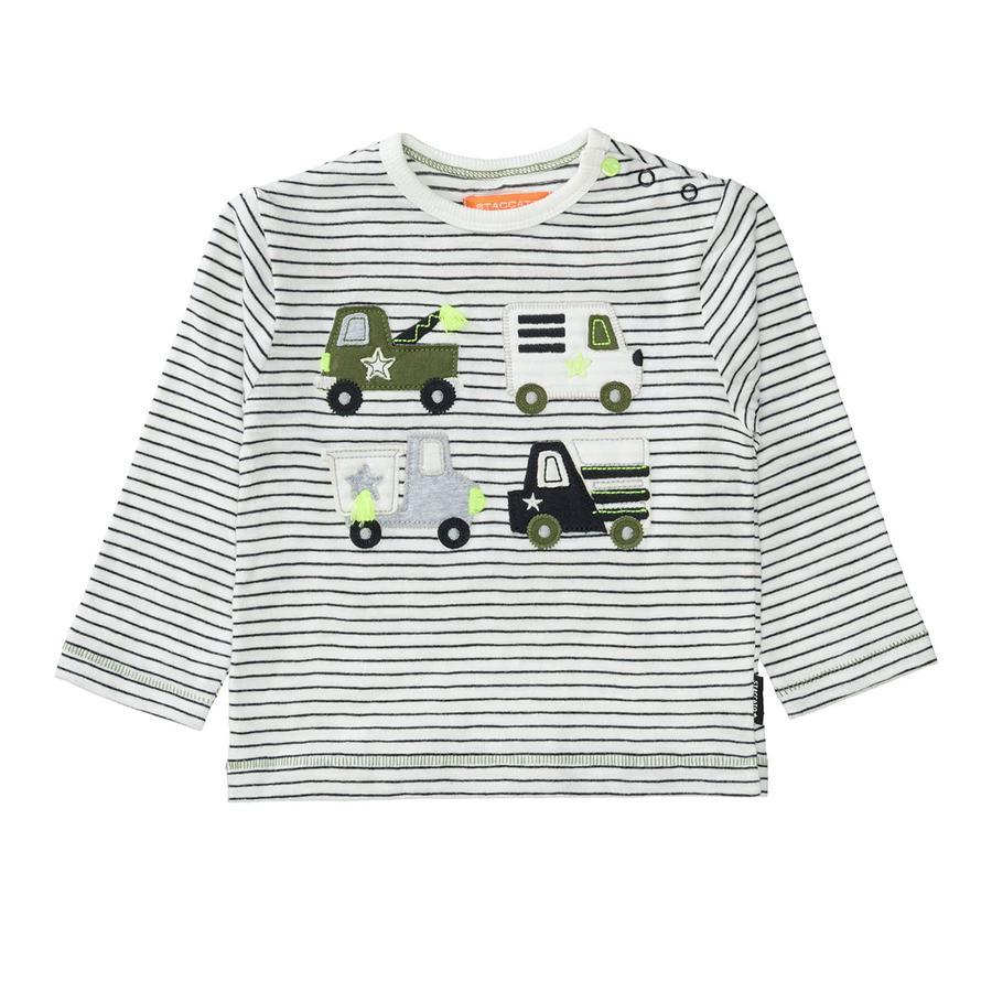 STACCATO Shirt anthra gestreift