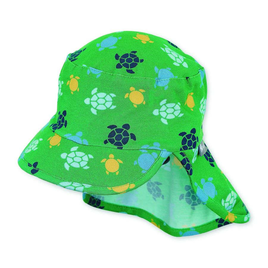 Sterntaler Schirmmütze mit Nackenschutz wald