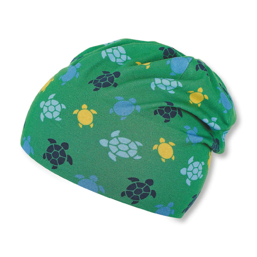 Sterntaler Slouch-Beanie grün