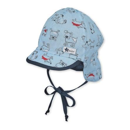 Sterntaler Peaked cap med halsbeskyttelseshimmel