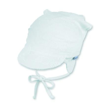 Sterntaler Bonnet enfant anti-UV à lacet blanc