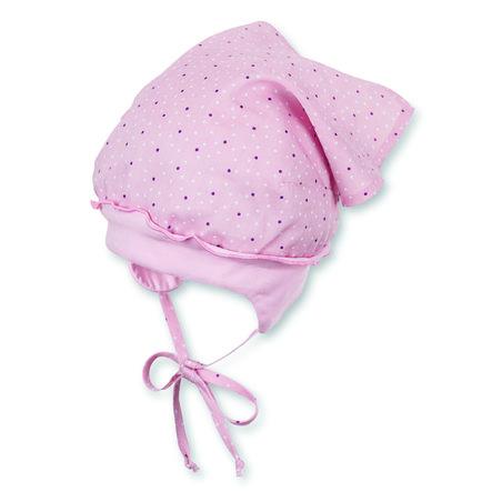 Sterntaler hovedtørklæde lyserød