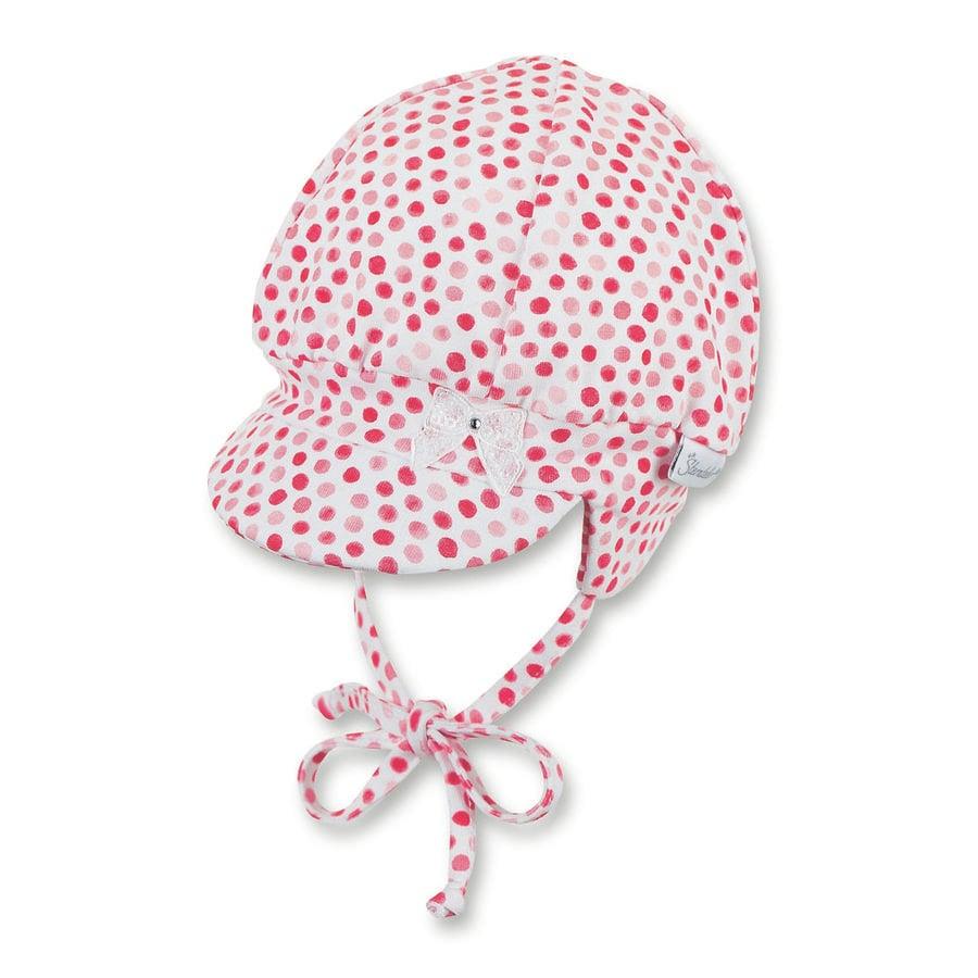 Čepice Sterntaler Balloon bílá