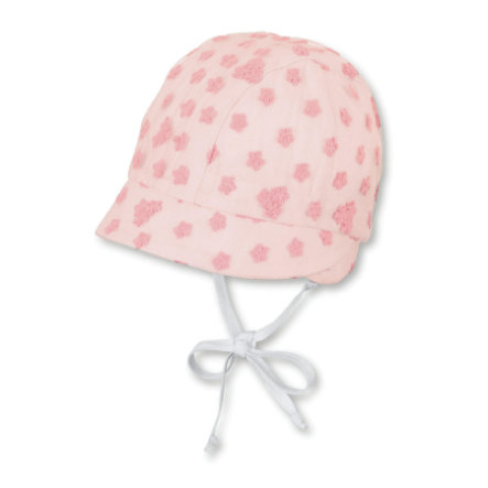 Sterntaler Girls Bonnet rouge clair