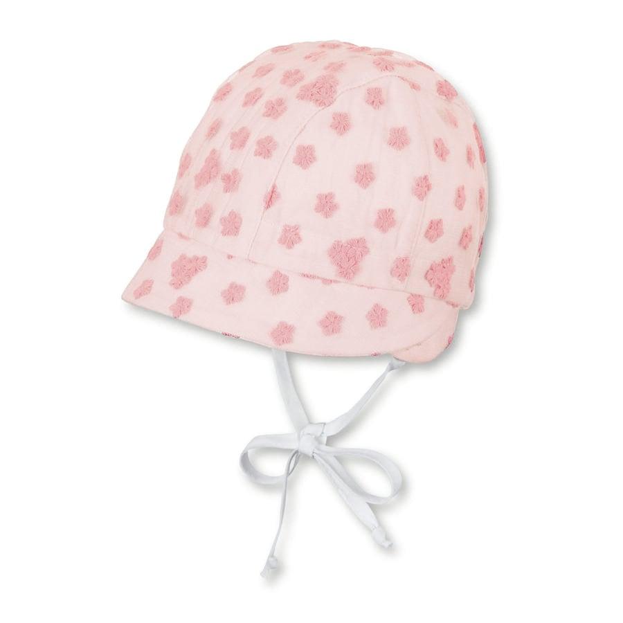 Sterntaler Girls Bonnet vaaleanpunainen