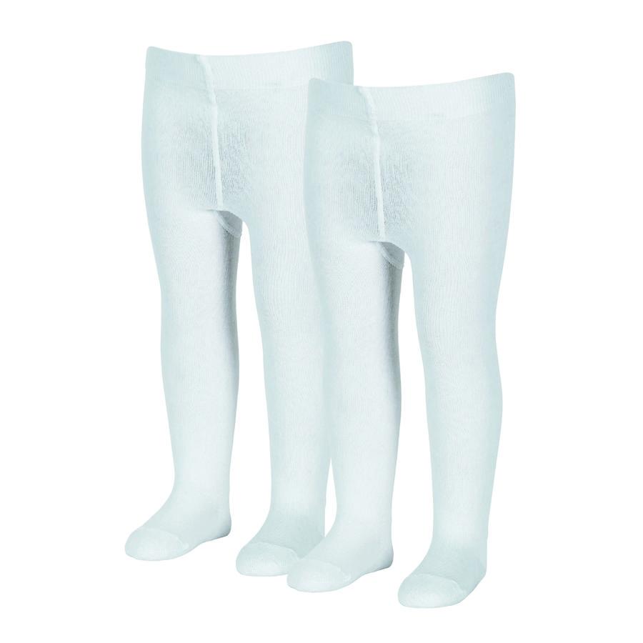 Sterntaler Strumpfhose uni Doppelpack weiß