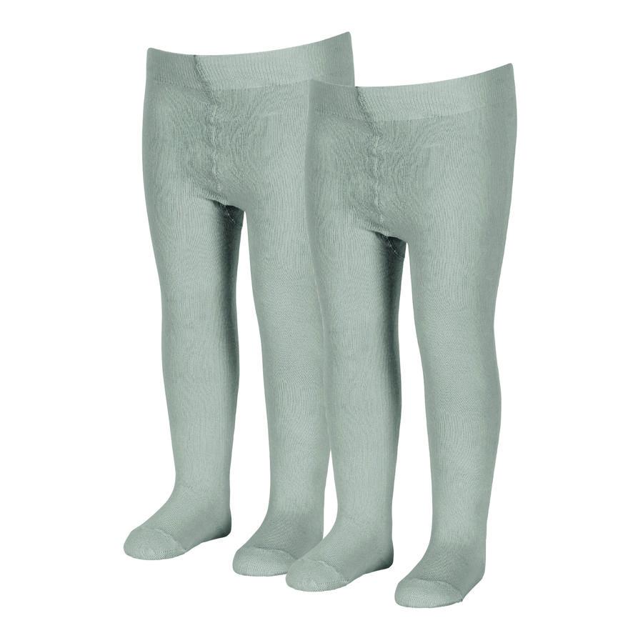 Sterntaler sukkahousut uni double pack slber melange