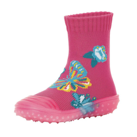 Sterntaler Adventure-Socken Schmetterling magenta