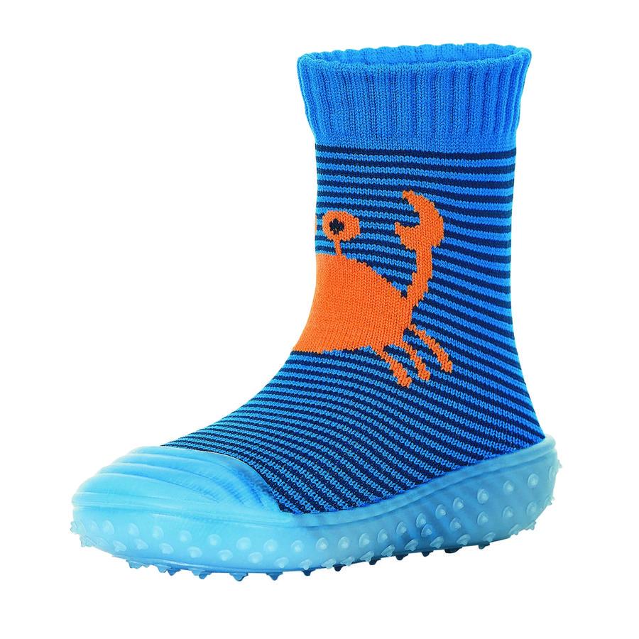 Sterntaler Adventure-Socken Krabbe blau