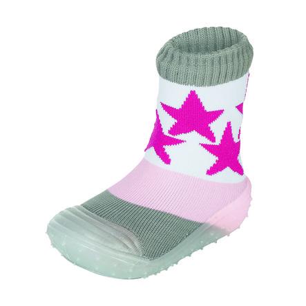 Sterntaler Chaussettes Adventure étoiles rose
