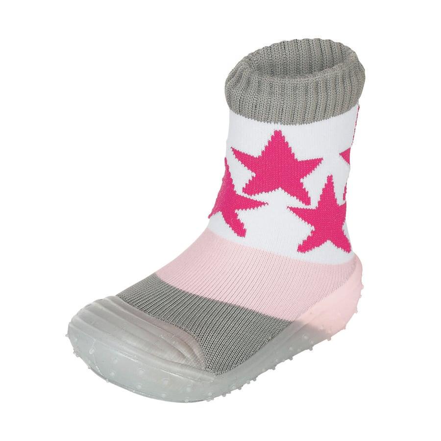 Sterntaler Adventure - ponožky hvězdy růžové