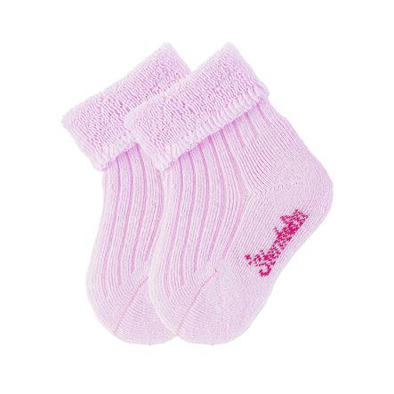 Sterntaler Baby-Söckchen uni Doppelpack rosa