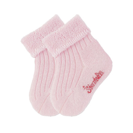 Sterntaler Babysokker uni dobbel pakke rosa