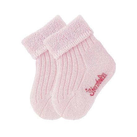 Sterntaler Dětské ponožky uni dvojité balení růžové