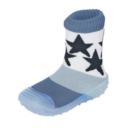 Sterntaler Adventure-sokker stjerner blekkblå