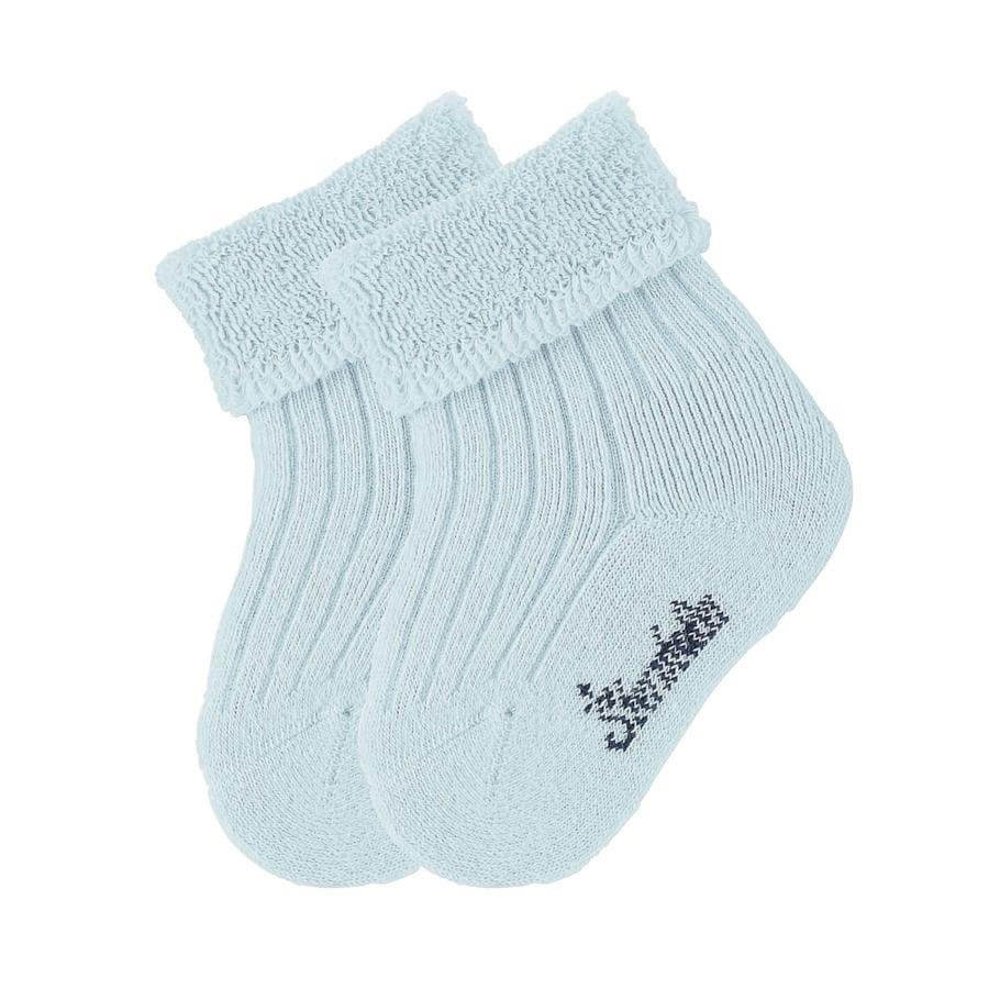 Dětské ponožky Sterntaler uni dvojité balení modré