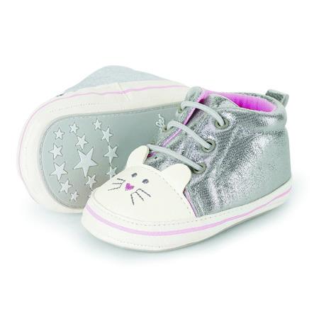 Sterntaler Baby-Schuh silber
